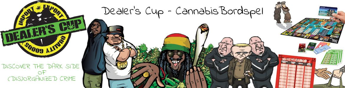 Dealer's Cup Cannabis Bordspel