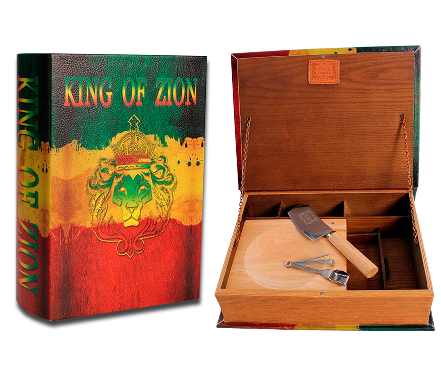 Kavatza Stash Book King of Zion XXL - Waterpijp-bong.nl