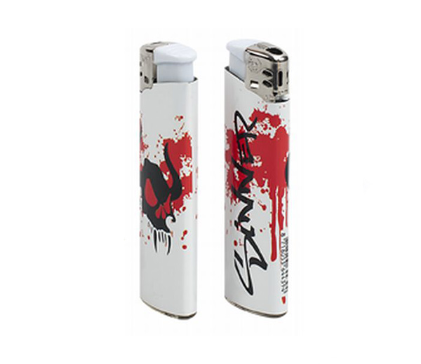 Lighter Sinner Skull - Refillable - Waterpijp-bong.nl