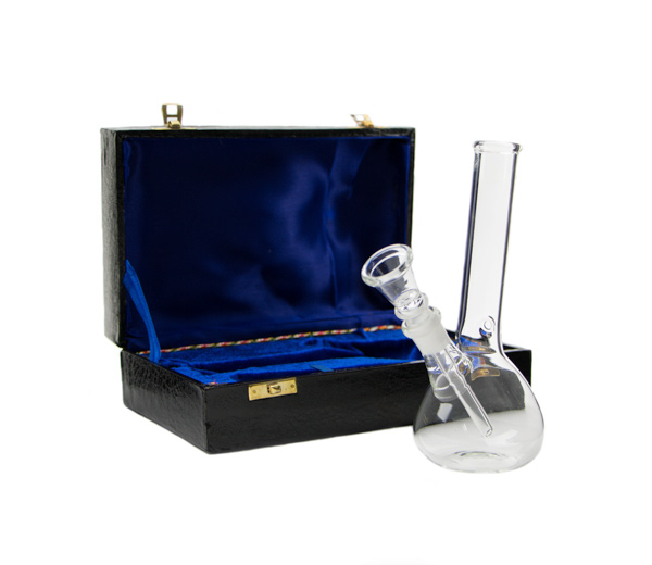 Chimney Glass Bong in Box - www.waterpijp-bong.nl