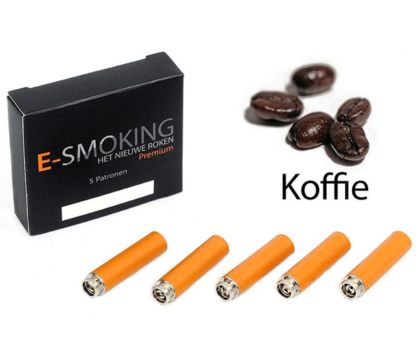 E-smoking Patronen koffie Middel 1 x 5 stk