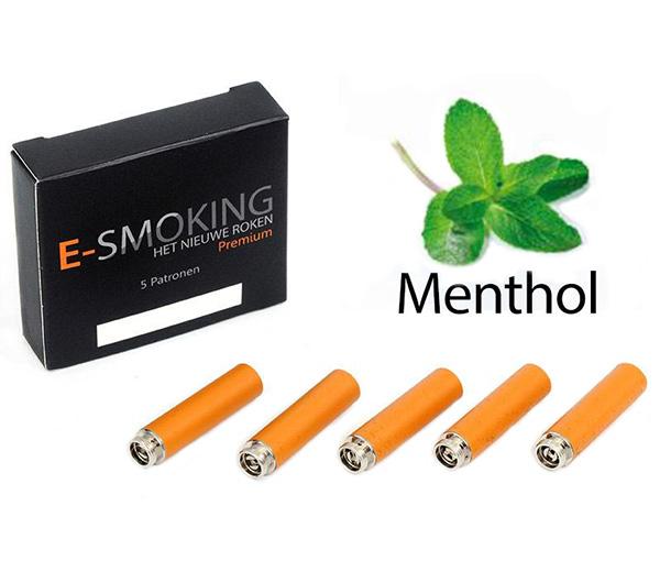 E-smoking Patronen Menthol Zonder Nicotine