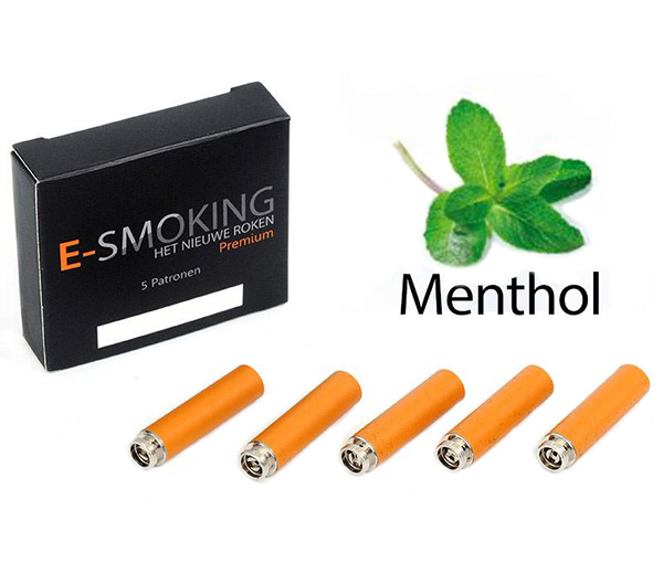 E-smoking Patronen Menthol Hoog 1 x 5 stk
