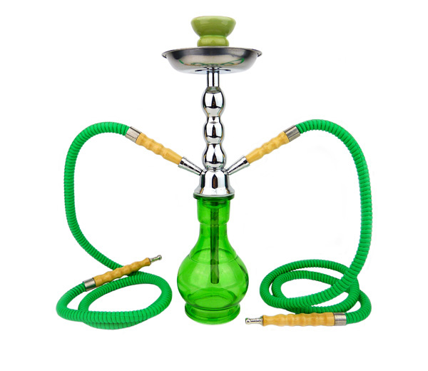 Junior Hookah Waterpijp 2 slangen groen