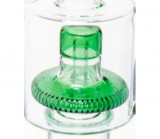 Acid Dabs 420 Series Percolator Bong Green - Waterpijp-bong.nl
