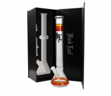 Black Leaf Flask Bong Ice in Gift Box red - Waterpijp-bong.nl