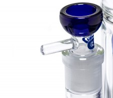 Blue Cane 2x 10-arm Percolator GG Bong