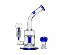 Blue Saxo GG Bubbler Oil Vaper Dome en Bowl