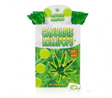 Cannabis Lollipop van 100% cannabis olie
