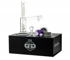 Drips Sidecar Vapor Bubbler with Slitted Ball Perc White - Waterpijp-bong.nl