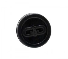 Grace Glass Dabs Black Silicone Jar 55mm