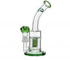 Green Saxo GG Bubbler Oil Vapor Dome en Bowl