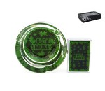 Got Smoke Leaf Logo Ashtray Zippo giftset