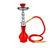 Junior Hookah Waterpijp 1 slang rood