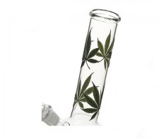 Multi Leaf Bowl Glass Bong transparant