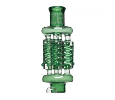 Pure Glass Zero X4 Quad Coil Green