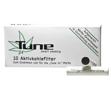 Tune Activ Charcoal Filters 10 pcs - www.waterpijp-bong.nl
