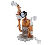 Black Leaf Galileo's SteamOmeter Recycler Dab Rig