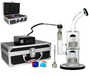 D-SMOKE E-Dab Bong Kit in Alumnium Case