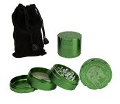 D-SMOKE HQ 4-Parts Grinder Green