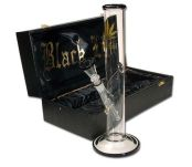 Golden Black Leaf Bong in a Box