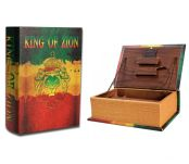 Kavatza Joint Rollers Stash Book King of Zion