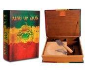Kavatza Stash Book King of Zion XXL