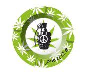 Peace Handgranaat Asbak