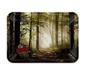RAW Metal Rolling Tray 'Forest'