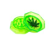 Grinder Leaf 53mm 2 parts groen